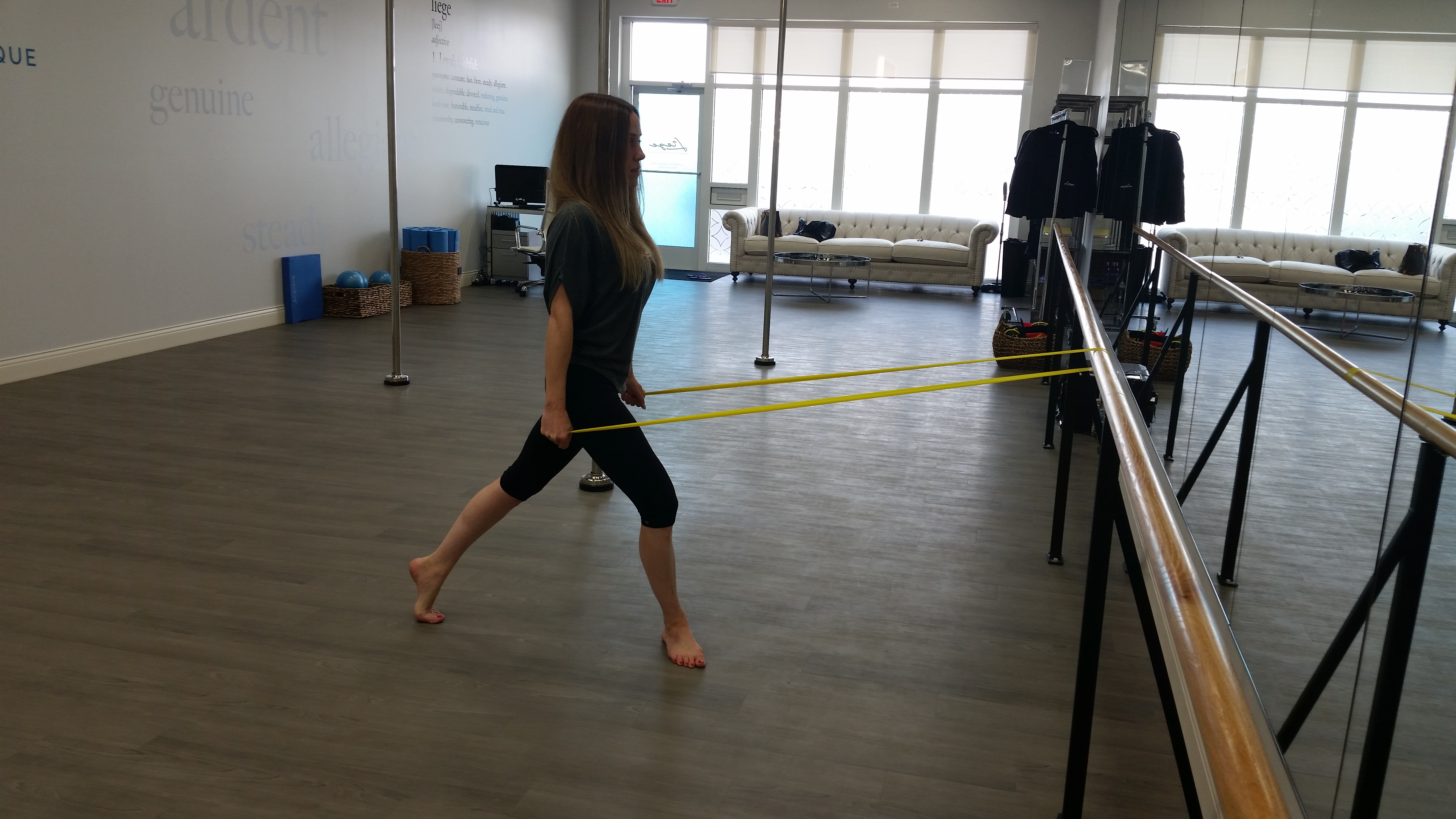 Instructor liege barre and pole jennifer esper received her total barre certification from the merrithew corporation in may of 2013 she completed her total barre foundation certification 1betcityfo Choice Image